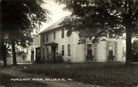 Hollis NH Mapleway Farm Real Photo Postcard