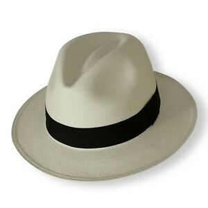 Genuine PANAMA HAT from Ecuador - Hand Woven - Rolling - Fairly Traded Rollable