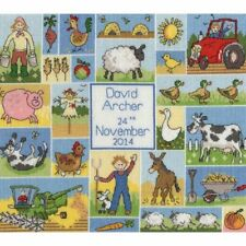 Bothy Threads PATCHWORK FARM Cross Stitch Kit