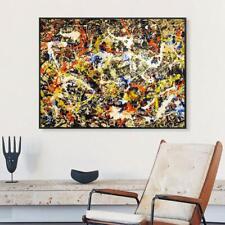 Jackson Pollock Canvas Art Prints