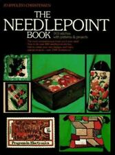 Needlepoint Book : 303 Stitches with Patterns and Projects EXCELLENT!!!