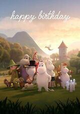 MOOMIN birthday card - MOOMINVALLEY