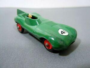 Vintage 1960 Matchbox No.41 'D' Type Jaguar Racing Car-*RARE RED WHEELS*