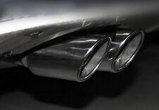 Stainless Steel Exhaust Muffler Tip Pipe 2PCS For Volkswagen VW Tiguan 2009-2016