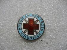 .Vintage Pin ARC RED CROSS VOLUNTEER,sterling