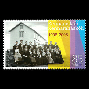 Iceland 2008 - 100th Anniversary of the Teachers College - Sc 1127 MNH
