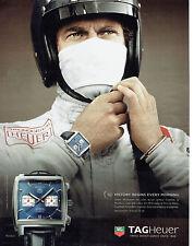 Publicité Advertising 088  2010   montre Tag Heuer  Monaco & Steeve McQueen