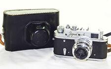 Zorki 4 (3rd) Russian Rangefinder Camera 1965 LEICA copy lens Industar-50 M39