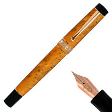 "MARTEMODENA fountain pen FREEDOM ""to change"" Rose Gold trim - NIB (F,M,B)"
