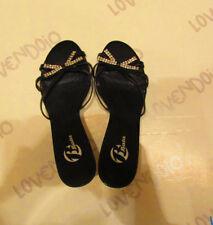 Sandalo donna elegante con tacco seminuove ottime