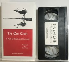 Tai Chi Chih: A Path to Health and Harmony (VHS Tape with Insert) Don Flore VG