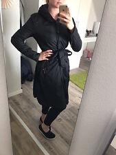 FIRETRAP Mantel Steppmantel Jacke Designermantel schwarz M 36 Gürtel - TOP!!!