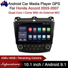 "10.1"" Android 9.1 Car Stereo Media Player GPS Head Unit For Honda Accord 03-07"