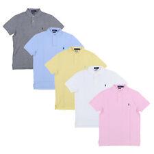 Polo Ralph Lauren Camisa Polo Masculina Personalizada malha Slim Fit Manga Curta P M G GG GGG