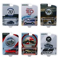 Greenlight 1:64 Anniversary Series 10 Set of 6 28020 Ford Chevy Nissan VW Model