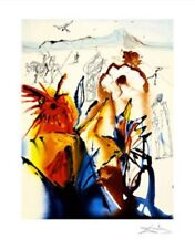 Diamond Head Limited Edition Giclee Salvador Dali Art Print 18x14