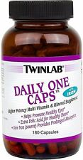 Daily One Caps, Twinlab, 180 capsules with Iron