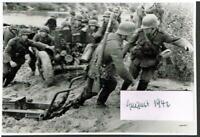 WW 2 Russland Feldzug 16.08.42 Gretnja Übergang über Shisdra Panzer Prop. K. 693