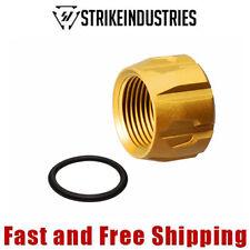 Strike Industries 9mm Pistol Barrel Thread Protector 1/2-28 TPI - Titan Gold