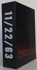 STEPHEN KING 11/22/63 SIGNED COLLECTOR'S EDITION