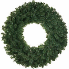80cm Deluxe Classic Green Christmas Party Pine Wreath Door Wall Decoration