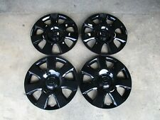 """Set of 4 New 2002 2003 2004 Camry 15"""" Hubcaps Wheel Covers Black 61115"""