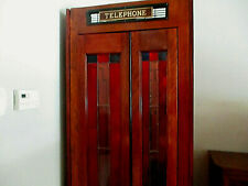 Phone Booth 1946 Restored