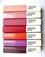 Maybelline Superstay Matte Ink 5ml - Please Choose Shade: