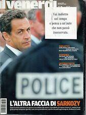 Il Venerdì.Nicolas Sarkozy,Robert Altman,Filippo Timi,Gerard Depardieu,iii