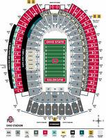OSU Ohio State Buckeyes Football  Penn State Parking Pass No Tickets RV LOT
