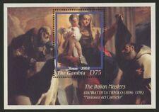 Gambia 2773 MNH Christmas, Art, Madonna