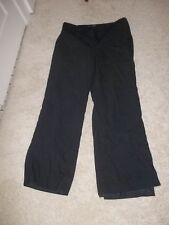 Ann Taylor size 14 women's dark grey pants slacks trousers wool/spandex