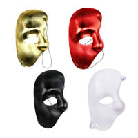 New Phantom Of The Opera Venetian Masquerade Half Face Eye Mask Halloween Party