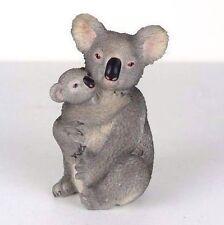 "Koala Holding Cub - Collectible Figurine Miniature - 4.5""H New in Box"