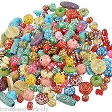KUS 100g Mix Acrylperlen Beads Bastelset Bastelbedarf Restposten Konvolut #5