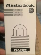 Master Lock 3LH --NEW--(Lot of 6) Keyed DIFFERENT 2 keys each Laminated Padlocks