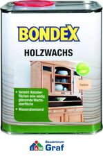 Bondex Wood Wax COLORLESS 0,75 L, Furniture Wax to Care and Finishing