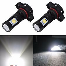 JDM ASTAR 2x 1500Lm 5202 5201 Super Bright Xenon White LED Bulbs DRL Fog Lights