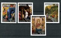 Grenadines of Grenada 2013 MNH Christmas 4v Set Art Giottino Uccello Stamps