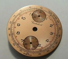 VINTAGE CORTEBERT CHRONOGRAPH WATCH DIAL ONLY from venus movement