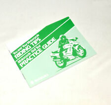 Suzuki You and Your Motocycle Riding Tips Skill Test Practice Guide Neu