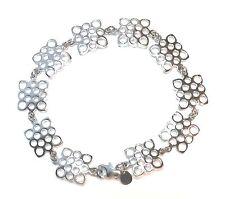 """Liisa Vitali Finland - Beautiful Sterling Silver .925 """"Pitsi"""" """"Lace"""" Bracelet"""