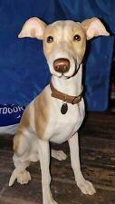 More details for large leonardo dog - whippet / greyhound height 38 cm length 35 cm width 22 cm