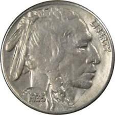 1935 S Indian Head Buffalo Nickel 5 Cent Piece Vf Very Fine 5c Us Coin