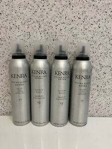 4x Kenra Volume Mousse Extra 17 Firm Hold Mousse 8 oz. new