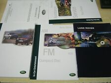 LAND ROVER FREELANDER OWNERS MANUAL HANDBOOK PACK , NEW  SERVICE BOOK 1997-2003