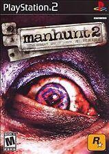 Manhunt 2 (Sony PlayStation 2, 2007) Rockstar USA ps2 game NTSC Case *No Manual*