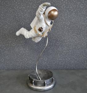46cm Floating Spaceman Astronaut - Statue Sculpture Figure Ornament Resin
