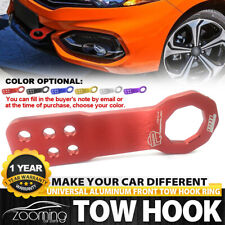 Universal Black JDM Style Aluminum Alloy Racing Car Front Tow Hook for All cars