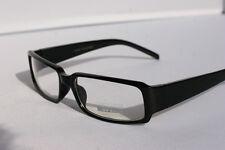50's Clear Lens BLACK Eyeglasses Glasses Vintage NERD